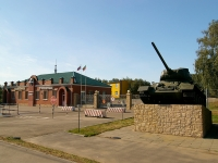 Kazan, trade school Казанское высшее военное командное училище, Orenburgsky trakt st, house 6