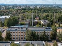 Казань, улица Оренбургский тракт. офисное здание