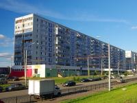 Казань, улица Академика Парина, дом 16. многоквартирный дом