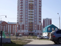 Kazan, Akademik Glushko st, house 49. Apartment house