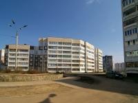Казань, улица Рашида Вагапова, дом 18. многоквартирный дом