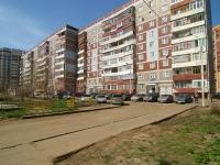 Kazan, Zakiev st, house 21. Apartment house