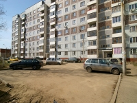 Kazan, Zakiev st, house 37. Apartment house