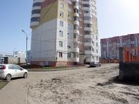 Казань, улица Джаудата Файзи, дом 3. многоквартирный дом