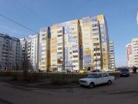 Казань, улица Джаудата Файзи, дом 12. многоквартирный дом