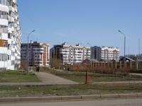 Казань, улица Туганлык, дом 1. многоквартирный дом