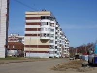 Казань, Дуслык переулок, дом 6. многоквартирный дом