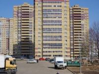 Казань, улица Чингиза Айтматова, дом 10. многоквартирный дом