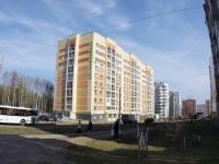 Казань, улица Минская, дом 37. многоквартирный дом