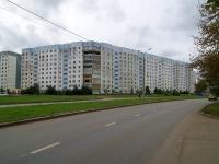Казань, улица Юлиуса Фучика, дом 14. многоквартирный дом
