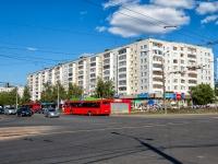 Казань, улица Юлиуса Фучика, дом 34. жилой дом с магазином