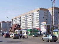 Казань, улица Юлиуса Фучика, дом 131. многоквартирный дом