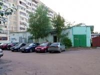 Kazan, st Dunayskaya. service building