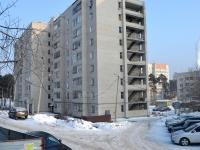 Казань, улица Железнодорожников (п. Юдино), дом 15. многоквартирный дом