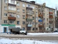Казань, улица Железнодорожников (п. Юдино), дом 21. многоквартирный дом