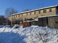 Казань, улица Железнодорожников (п. Юдино), дом 5. многоквартирный дом