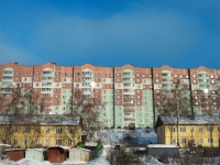 Казань, улица Бирюзовая (п. Юдино), дом 9. многоквартирный дом