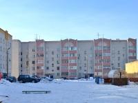 Казань, улица Привокзальная (п. Юдино), дом 6. многоквартирный дом