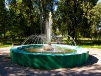 Казань, улица Белинского. сквер на ул. Белинского