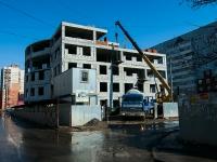 Казань, улица Лукина. строящееся здание