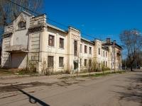 Казань, улица Побежимова, дом 32. неиспользуемое здание