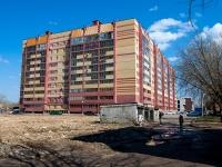 Казань, улица Побежимова, дом 36. многоквартирный дом