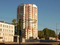 Казань, улица Побежимова, дом 37. многоквартирный дом