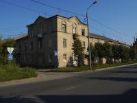Казань, улица Челюскина, дом 12. многоквартирный дом