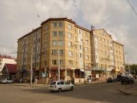 Казань, улица Ленинградская, дом 22. многоквартирный дом
