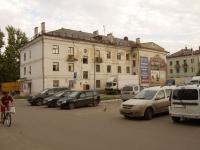 Казань, улица Ленинградская, дом 25. многоквартирный дом
