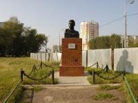Казань, улица Ленинградская. памятник М. Джалилю