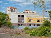 Казань, улица Симонова. строящееся здание детский сад