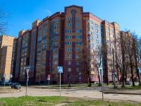 Казань, улица Чапаева, дом 14. многоквартирный дом