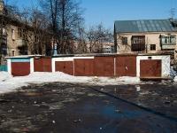 Казань, улица Олега Кошевого. хозяйственный корпус индивидуальные гаражи