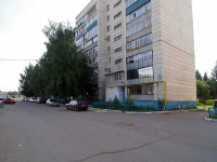 Almetyevsk, Gafiatullin st, house 2. Apartment house
