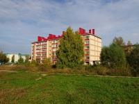 Альметьевск, улица Гафиатуллина, дом 3А. многоквартирный дом