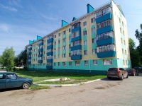 Almetyevsk, Gafiatullin st, house 6. Apartment house