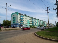 Almetyevsk, Gafiatullin st, house 14. Apartment house