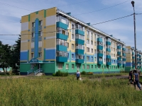 Almetyevsk, Gafiatullin st, house 17. Apartment house