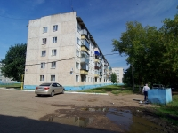 Almetyevsk, Gafiatullin st, house 18. Apartment house