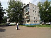 Almetyevsk, Gafiatullin st, house 21. Apartment house