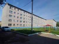 Almetyevsk, Gafiatullin st, house 22. Apartment house