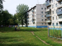 Almetyevsk, Gafiatullin st, house 23. Apartment house