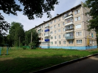 Almetyevsk, Gafiatullin st, house 24. Apartment house