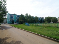 Almetyevsk, Gafiatullin st, house 26. Apartment house