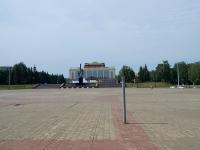 """улица Ленина. площадь """"Нефтьче"""""""