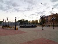 """улица Ленина. фонтан """"У театра"""""""