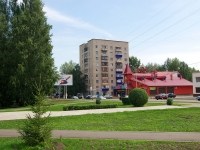Almetyevsk, avenue Stroiteley, house 11А. Apartment house