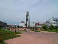 Almetyevsk, Stroiteley avenue, stele