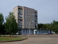 Альметьевск, улица Мира, дом 1. многоквартирный дом